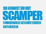 So kannst du mit SCAMPER wundervolle Geschäftsideen entwickeln