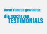 Die Macht von Testimonials