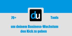 70+ Tools um deinem Business-Wachstum den Kick zu geben